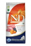 N&D GF Pumpkin DOG Puppy M/L Lamb & Blueberry 12kg