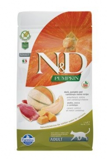 N&D GF Pumpkin CAT Duck & Cantaloupe melon 5kg